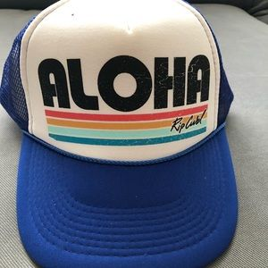Cute Blue 'Aloha' Hat by Rip Curl!